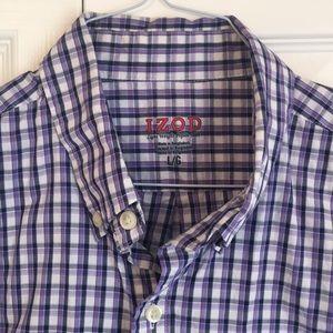 Izod Shirts - LIKE NEW Men's IZOD short sleeve button down shirt